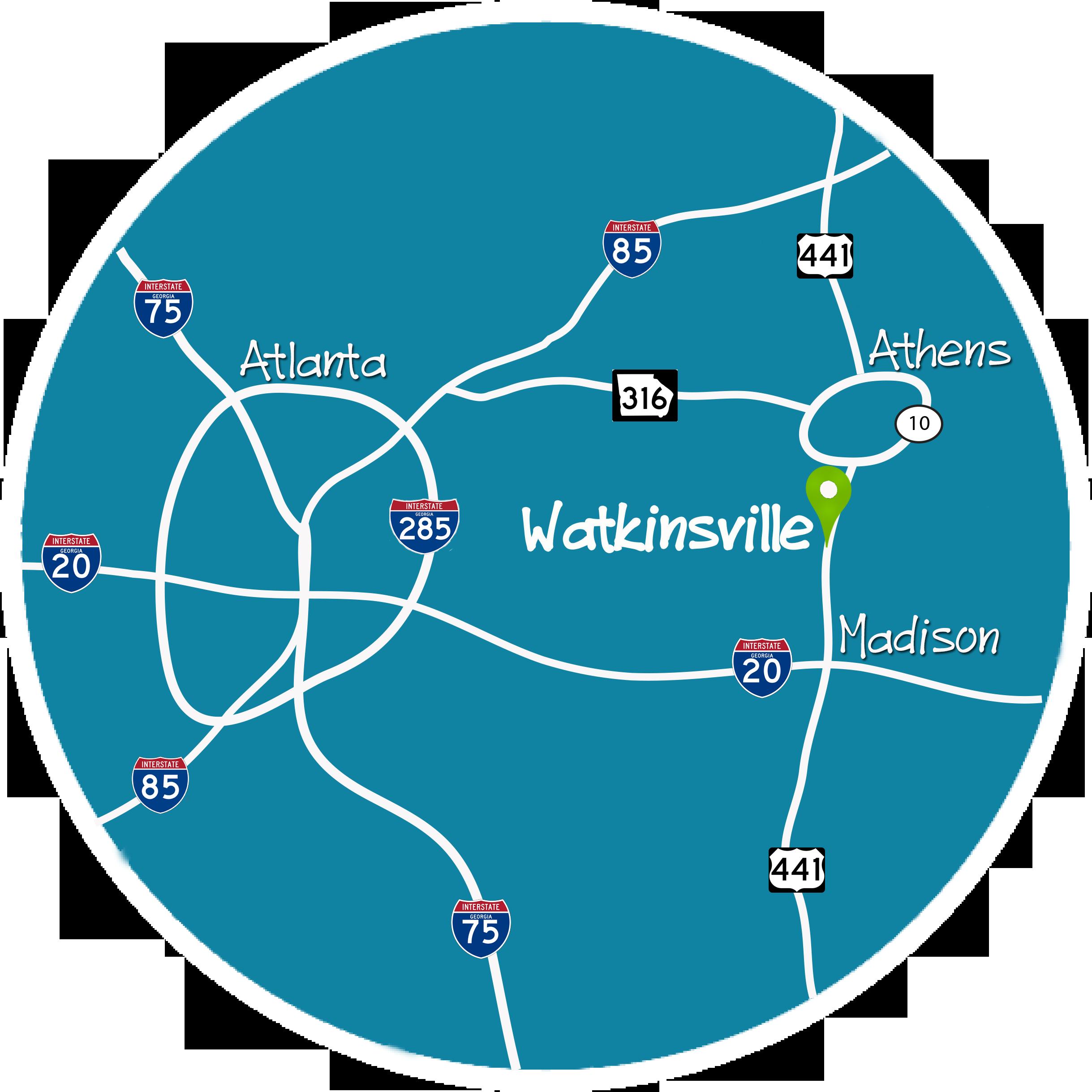 Map Of Georgia 7 Wonders.Visit Watkinsville Oconee County Georgia Official Tourism Website
